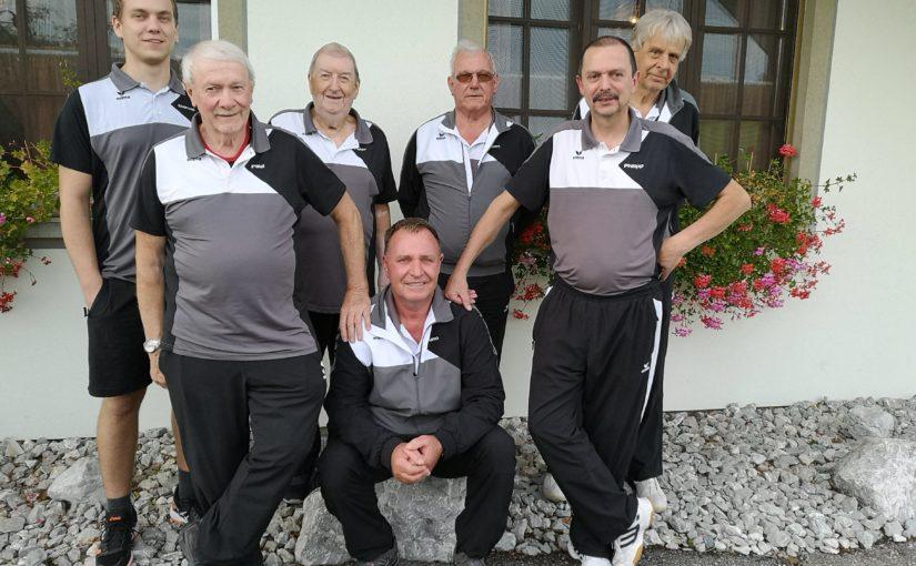 Der Kegelklub Riedbuebe aus Neuenegg holt Gold