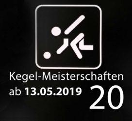 Kegel-Meisterschaften ab 13. Mai 2019 (KW 20)