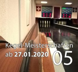 Kegel-Meisterschaften ab 27. Januar 2020 (KW 05)