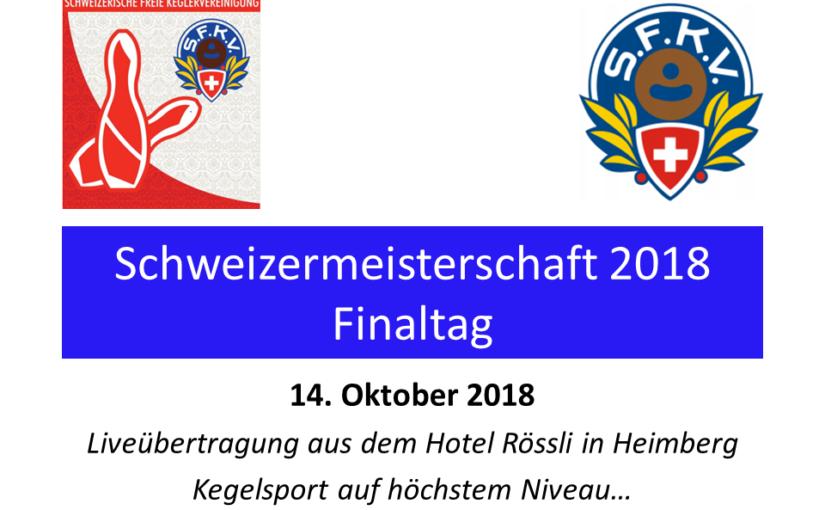Finaltag der 65. Schweizermeisterschaft in Heimberg